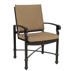 Woodard Spartan Dining Arm Chair - 390401