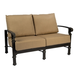 Woodard Spartan Love Seat - 390419