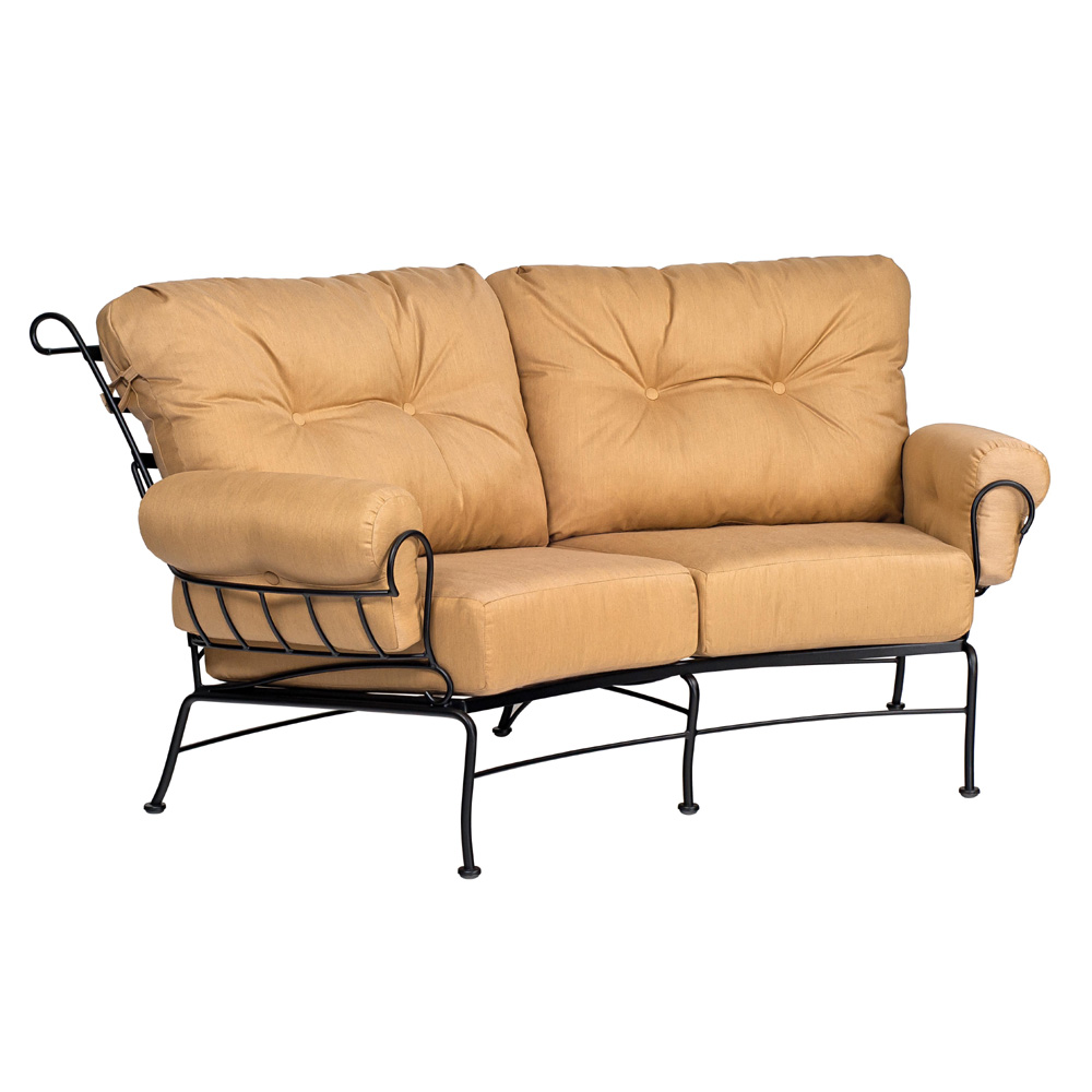 Woodard Terrace Crescent Loveseat - 790063
