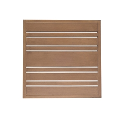 Woodard Tri-Slat 22 inch Square Top - 02621