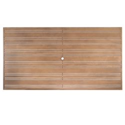 Woodard Tri-Slat 52 inch by 100 inch Top - 02652