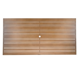 Woodard Tri-Slat 42 inch by 84 inch Top - 02684