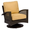 Woodard Trinidad Swivel Lounge Chair - 6U0077J