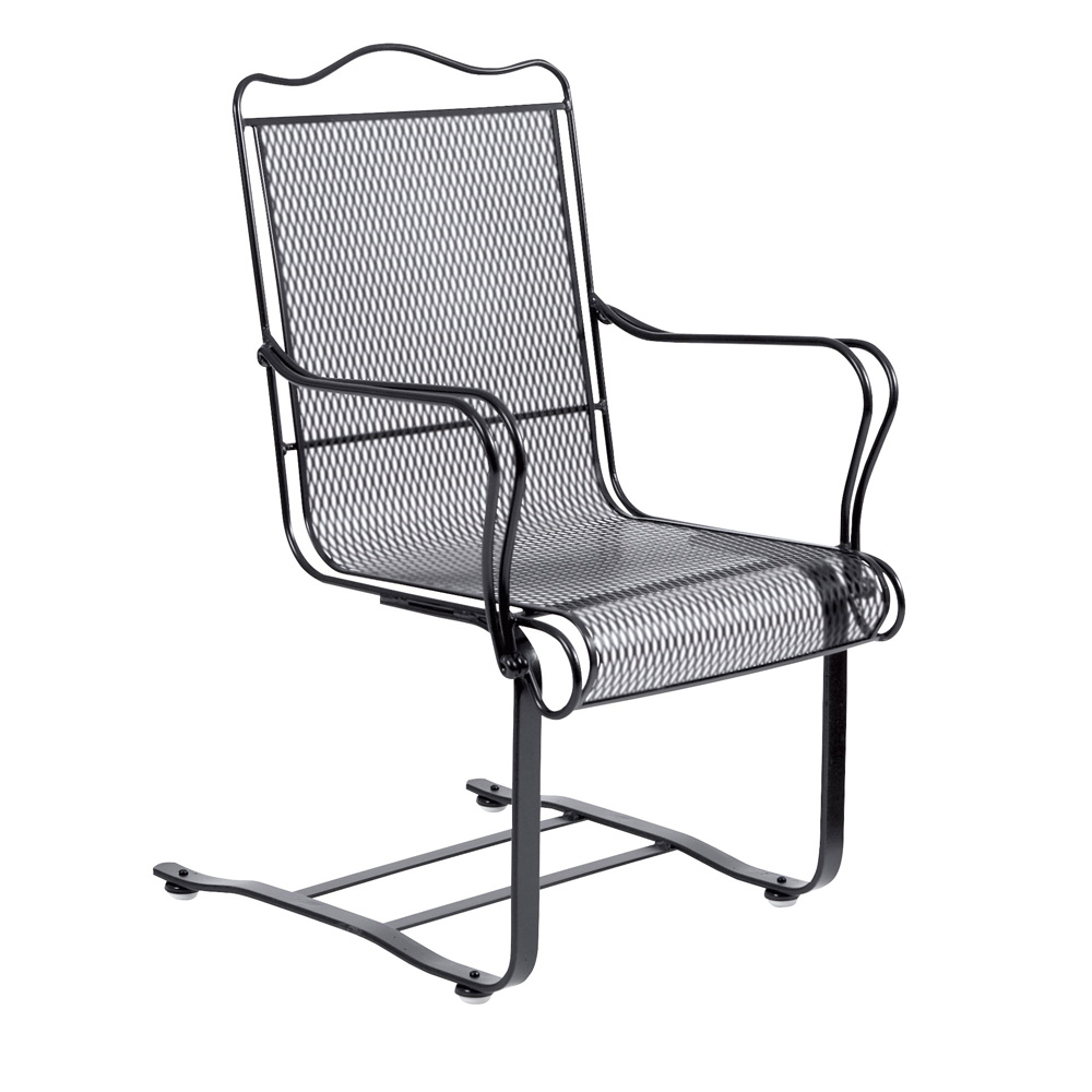 Woodard Tucson High-Back Spring Base Dining Chair - 1G0018