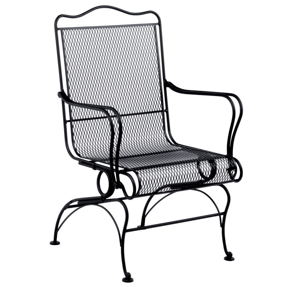 Woodard Tucson High-Back Coil Spring Dining Chair - 1G0066
