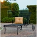 Tucson Wrought Iron Adjustable Chaise Lounge - 1G0070