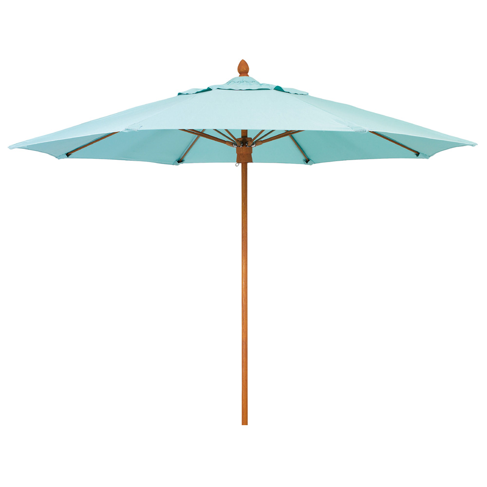 Woodard 11 Foot Octagonal Fiberbuilt Bridgewater Umbrella - 1411BRPUW