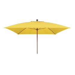 Woodard 7 1/2 Foot Square Fiberbuilt Lucaya Umbrella - 1475LCSQW