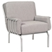 Uptown Modern Wrought Iron Loveseat and Lounge Chair Set - WD-UPTOWN-SET2