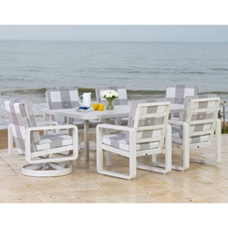 Woodard Vale Patio Dining Set for 6 - WD-VALE-SET3