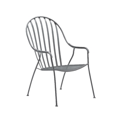 Woodard Valencia High Back Barrel Dining Chair - 310006