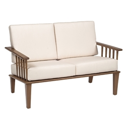 Woodard Van Dyke Loveseat - 1F0419