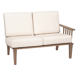 Woodard Van Dyke Right Arm Facing Sectional Loveseat - 1F0461