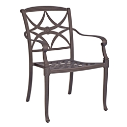 Woodard Wiltshire Dining Arm Chair - 4Q0417