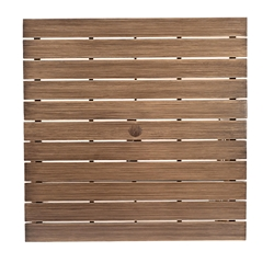 Woodard Woodland 52 inch Square top  - 03055